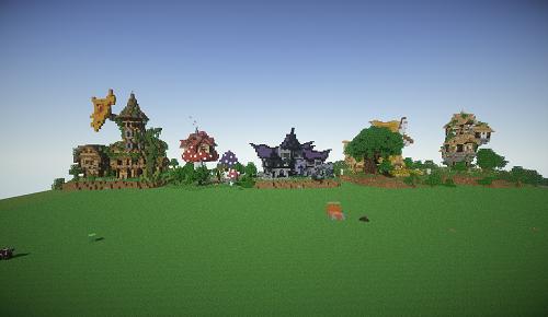 [MAP] Fantasy House Pack -  очень красивые домики