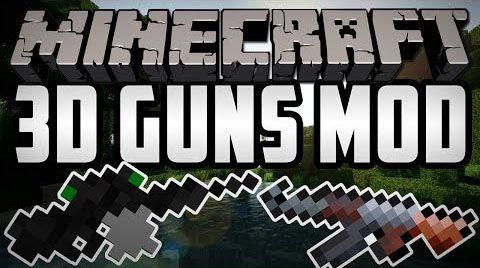 New Stefinus 3D Guns Mod - оружие [1.7.10]