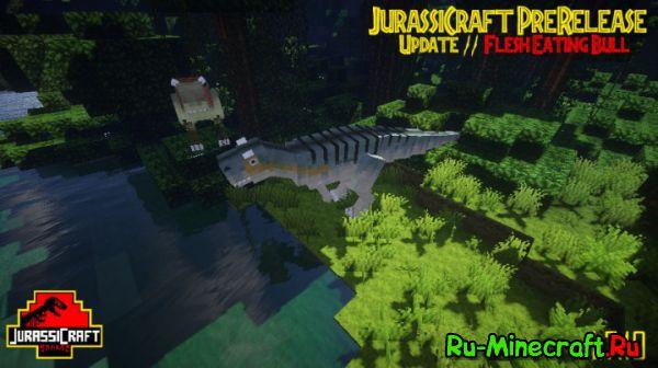 [Mod][1.7.10][1.8] JurassiCraft — Юрский период!