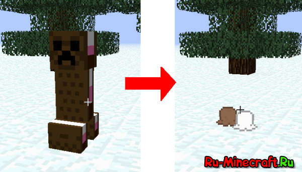 The Ice Cream Sandwich Creeper Mod [1.8] [1.7.10] [1.6.4]