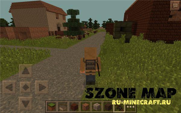 [Map][PE][0.10.x] sZone - карта  Любеч-1 для Minecraft pe