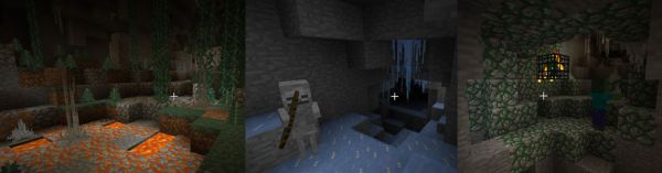 [1.7.10] CaveBiomes Mod - новые биомы