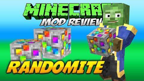 [1.7.10] Randomite Mod - Lucky Block, только лучше.