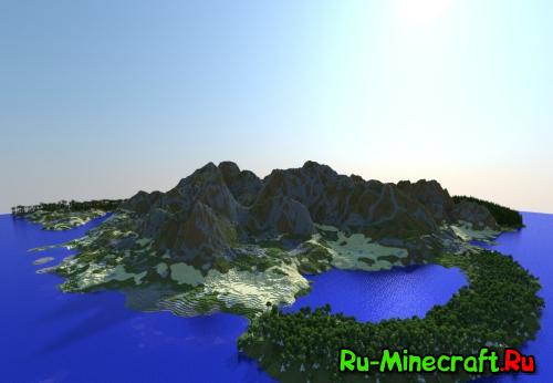 [Map][1.8/1.7.10] Ultra Realistic Minecraft Terrain - реалистичный ландшафт