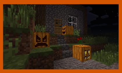 Carvable Pumpkins Mod - тыквы [1.12.2] [1.11.2] [1.10.2] [1.8] [1.7.10]