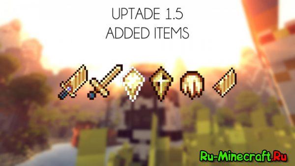 Gods Weapons Mod — оружие богов [1.10.2] [1.9.4] [1.7.10]
