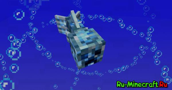 Aqua Creepers — Водные криперы [1.12.2] [1.10.2] [1.7.10]