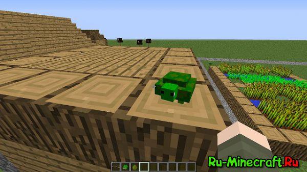 Turtle Gun Mod — Черепашки [1.8 1.7.10]