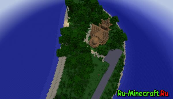 [Карта][1.8/1.7.10] Green Island - островок