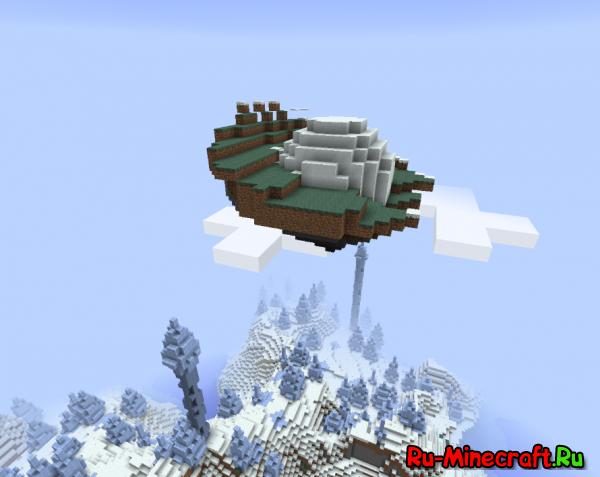 [1.8] Floating Ruins - летающие данжи!