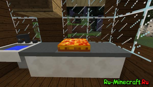 Cheese mod - новая еда, сыр и даже оружие [1.12.2] [1.11.2] [1.7.10] [1.7.2]