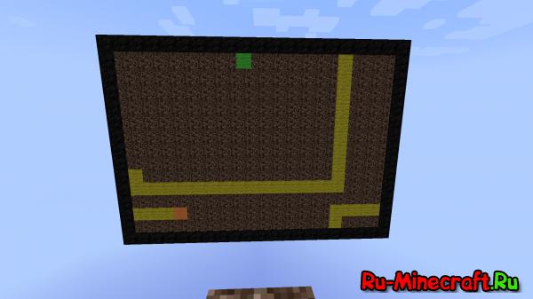 [MAP][1.8+] Змейка в Minecraft!