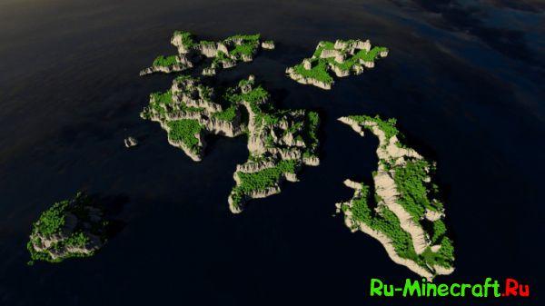 [Карта][1.8+] The Savage Cliffs — Дикие острова...
