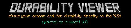[1.7.10] DurabilityViever_mod - смотрим прочность