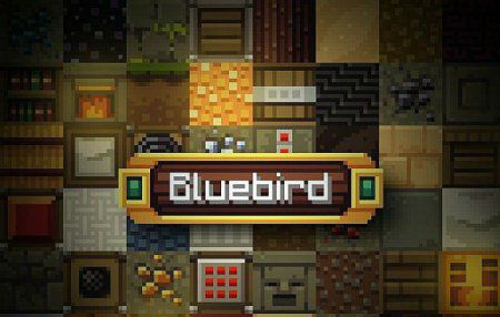 [1.8][16x] Bluebird Official Continuation Resource - хорошие текстуры