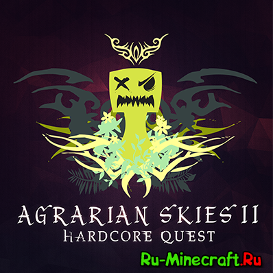 [Клиент] Agrarian Skies 2 Hardcore Quest — Квесты в Minecraft!