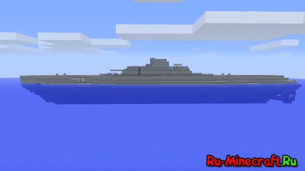 [Карта] Surcouf Class Submarine - большая субмарина