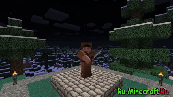 [1.8+][64x] Ovos Rustic Redemption - Действительно красиво!