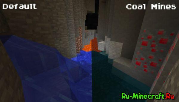 [1.8.3][16x] Coal Mines - все слишком просто, чтобы быть простым.