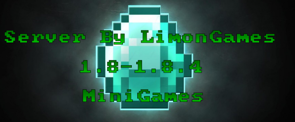 [Server][1.8-1.8.4] Сборка MiniGames от LimonGames