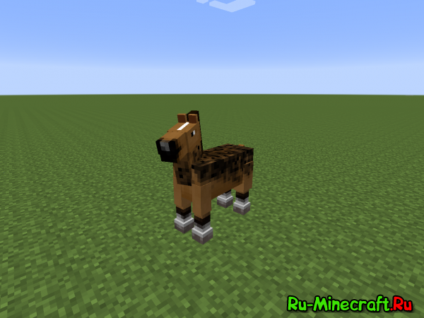 Morphing mod - Превращение в животных [1.7.10]
