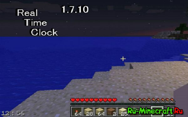 Real Time Clock — время [1.12.1] [1.11.2] [1.10.2] [1.9.4] [1.8.9] [1.7.10]