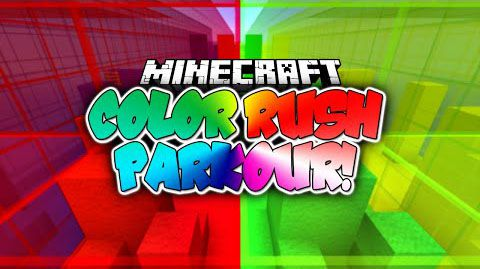 [Карта][1.8] Colour Rush Parkour