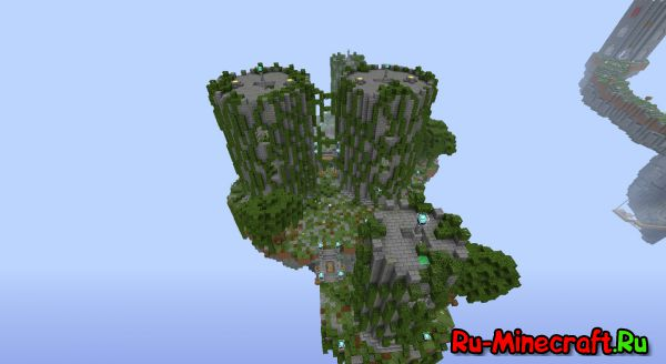 [Карта] Castle PvP Map For Minecraft v.1.7.10 (Обновление)