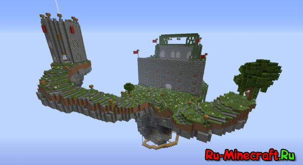 [Карта] Castle PvP Map For Minecraft v.1.7.10 (Обновление)