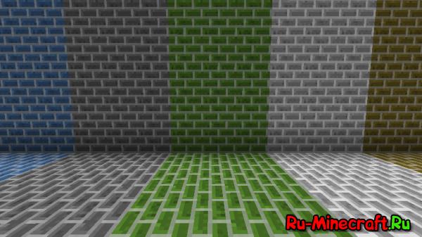 [Mod][1.7.10] More Brick's - Больше кирпичей !