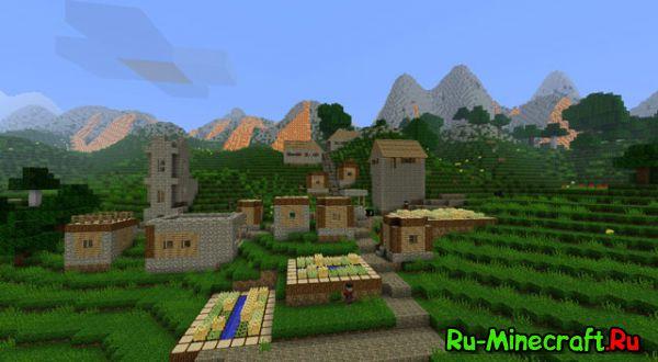 [Mod][1.6.4-1.7.10] New Terrain Mod - Новая генерация..