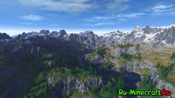 [Map] Aluod Peak — Красивейшая карта