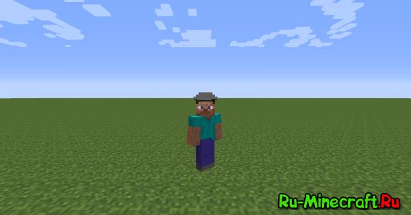 [Mod][1.7.10] RuHatsMod - Декоративные шлемы в игре