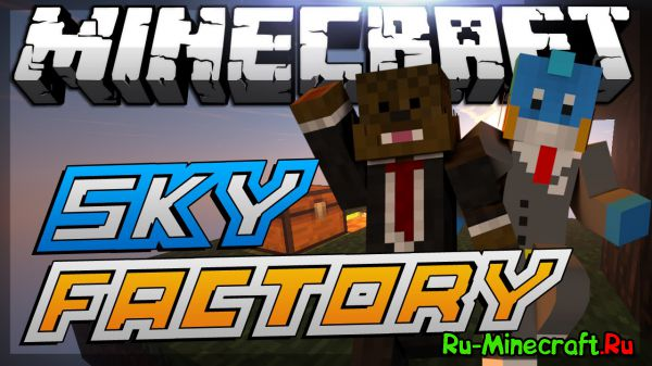 [Client][1.7.10] Sky Factory edit MrRooots [154 mods]