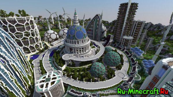 Climate Hope City - Город город будущего [Map][1.8]