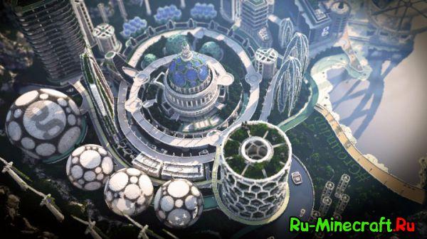 [Map][1.8] Climate Hope City - Город город будущего