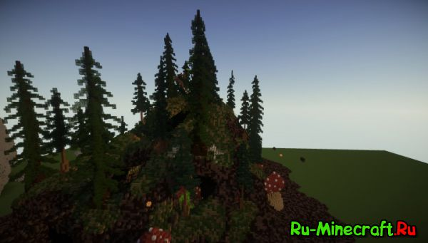 [Map] Dark Forest - темный лес