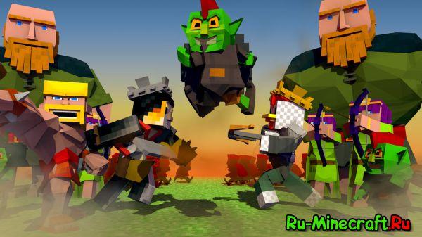 [Mod][1.7.10] Clash of Clans mod - популярная мобильная игра теперь и в minecraft