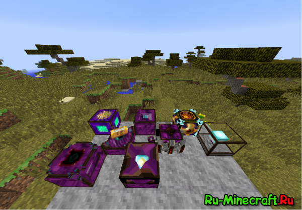 EssentialCraft 3,4 -магические блоки и предметы [1.10.2] [1.7.10]