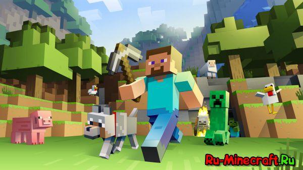 [Minecraft News] Microsoft Hololens на примере Minecraft. ВЫСТАВКА E3 [RUS]
