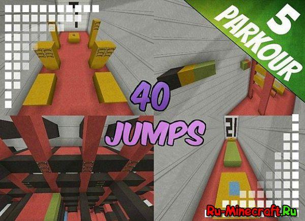 40 jumps - Паркурчик.. [Map] [1.8-1.8.7]