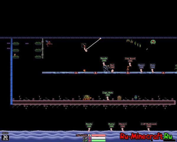 [Разное] Worms Armageddon - классические червячки