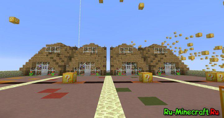 Скачать карту гонки с лаки блоками для minecraft 0. 15. 1.