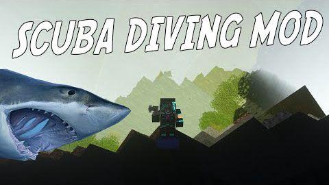 [Mod][1.7.10] Deep Sea Diving- Подводная охота
