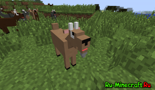 [Mod][1.7.10] GoatMod - Козлики