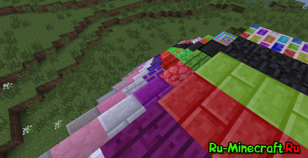 Colored Bricks - цветные кирпичи [1.7.10]