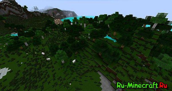 [1.8+][64X] InfernoPack - Очень красивое дерево!