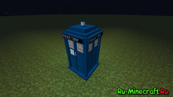 [Мод][1.7.10] TARDIS mod — Доктор в Майнкрафте! :)