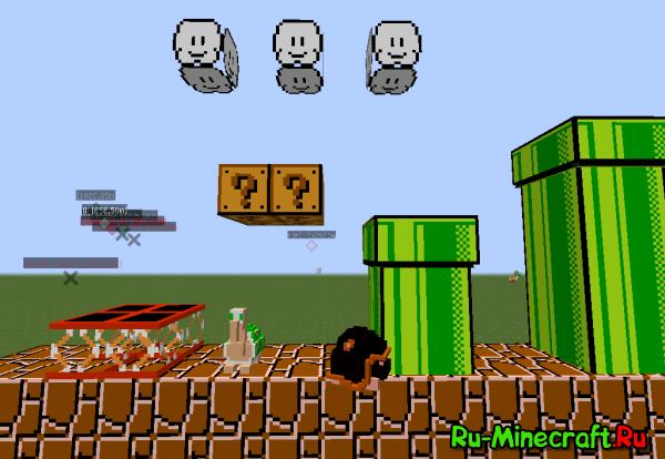 Super Mario Mod - супер марио  [1.7.10] [1.7.2]