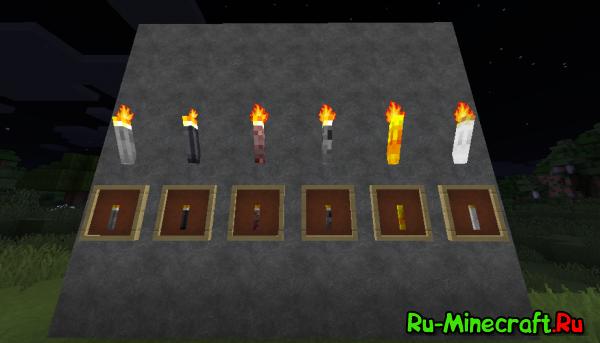 [Mod][1.7.10] Sodacan Torches - Факела из камней!